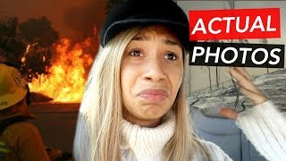 MY HIGH SCHOOL BURNED DOWN. | MYLIFEASEVA VLOGMAS 2017 DAY 6
