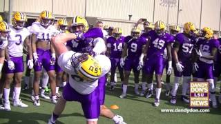LSU Big Cat Drill - March 15, 2016