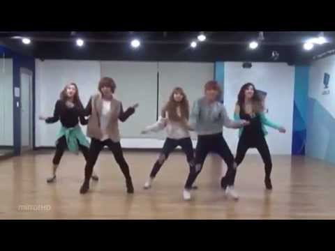 4minute 'What's Your Name?' mirrored Dance Practice.