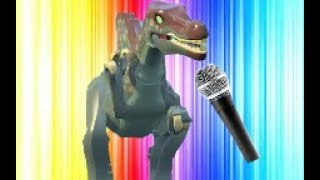 Jurassic park 3 the musical (Lego edition)