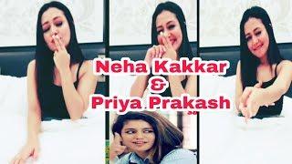 Neha Kakkar Copy Priya Prakash Varrier Style | Priya Prakash Varrier | Neha Kakkar | Oru Adaar Love