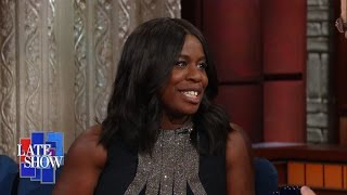 Before She Became Crazy Eyes, Uzo Aduba Was Scared Straight