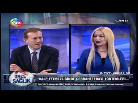 Kalp Yetmezliğinde Cerrahi Tedavi Yöntemleri- Ege TV 17.03.2017