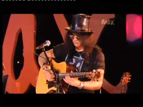 Sweet Child O' Mine - Rare Acoustic - Slash & Myles Kennedy - Live Max Sessions 2010 HQ