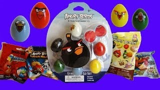 Angry Birds Mashem, K'NEX & Star Wars Blind Bags & Stamp and Go Set Unoxing