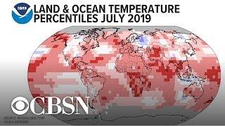 Julio fue el mes más caluroso registrado en la Tierra