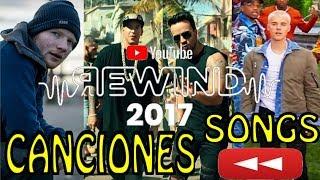 Canciones utilizadas en YouTube Rewind 2017   Songs of Youtube Rewind 2017   #YoutubeRewind