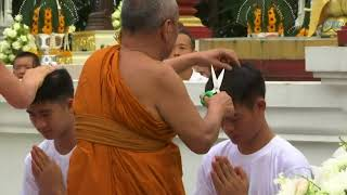 Thai Soccer Boys Becoming Novice Buddhist Monks