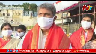Kesineni Nani visits Tirumala, says never expected Covid-1..