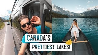 Final ROAD TRIP DAY! - Lake Louise & Emerald, CANADA'S PRETTIEST LAKES! (Banff National Park)