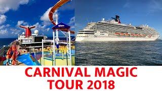 Carnival Magic Ship Tour 2018