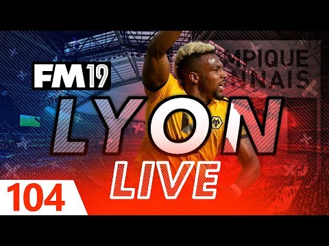Football Manager 2019 | Lyon Live #104: Taking On The Pack #FM19