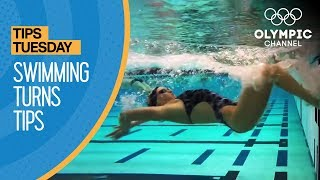 How To Improve Your Swimming Turns ft. Coach Jack Bauerle | Olympians' Tips