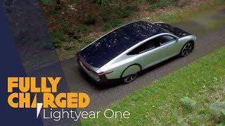 Lightyear One solar powered electric car - exclusive first look | Fully Charged