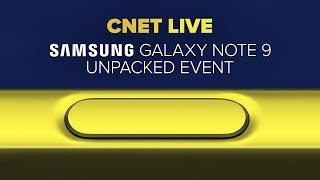 Samsung Galaxy Note 9 Unpacked event live stream
