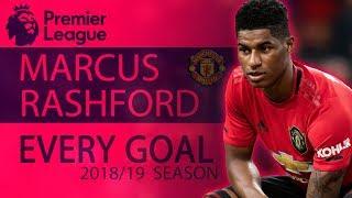 Every Marcus Rashford goal from 2018-19 Premier League season | NBC Sports