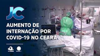 Número de internações em UTIS, por causa da Covid-19, continua aumentando no Ceará