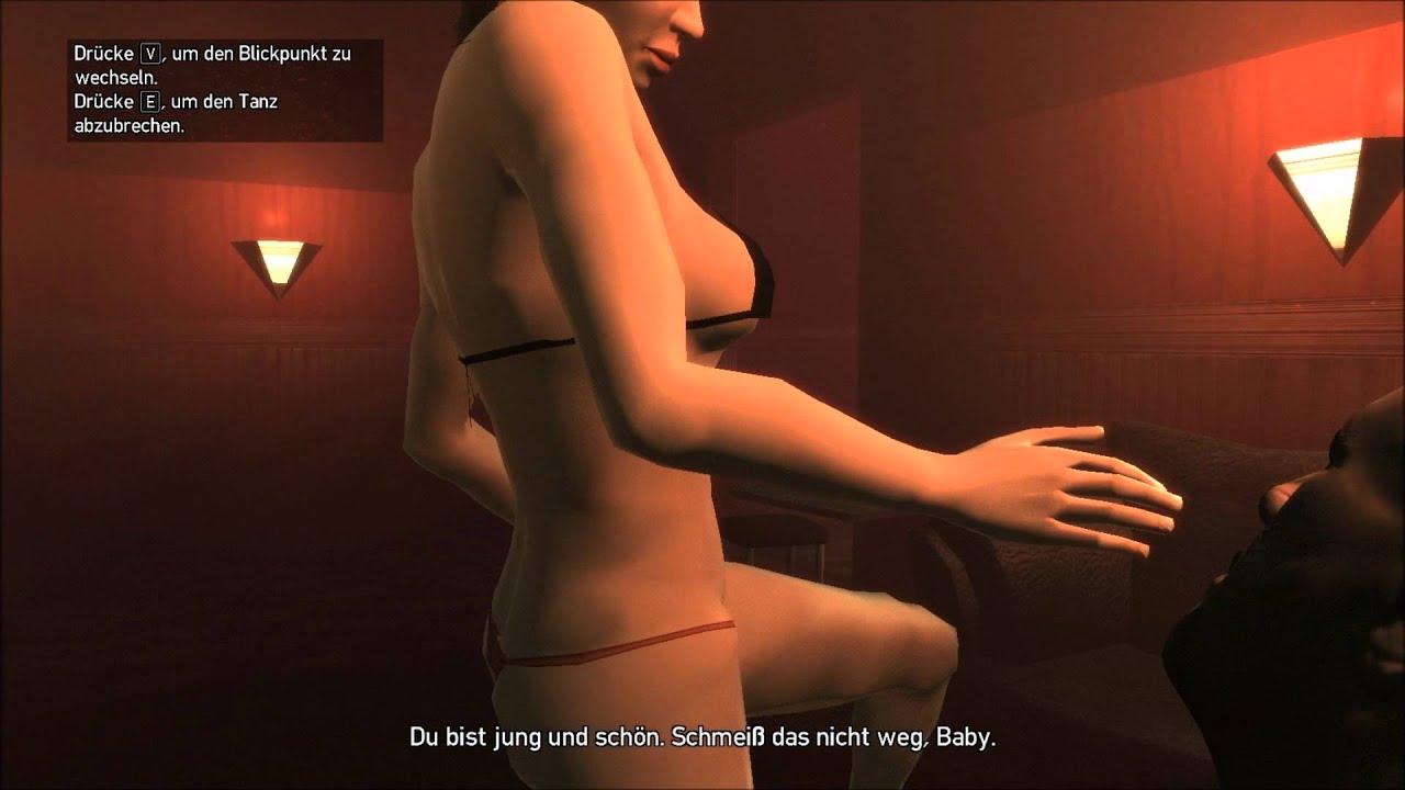 Strip club girls having sex