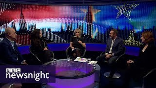 Theresa May's Mansion House speech: panel discussion - BBC Newsnight