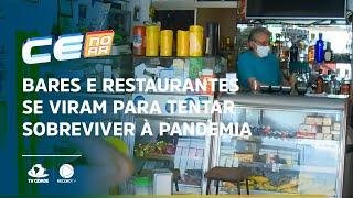 Bares e restaurantes se viram para tentar sobreviver à pandemia