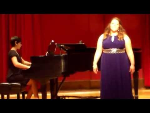 """Give Me Jesus"" arranged by Moses Hogan was the final spiritual I sang in my Graduate Recital."