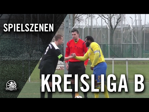 SSG Humboldt - SV Nord Wedding (Kreisliga B, Staffel 5) - Spielszenen | SPREEKICK.TV