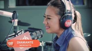 "Morissette sings ""Diamante"" (LIVE) on Wish 107.5 Bus HD"