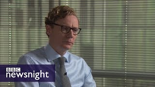 Exclusive: Alexander Nix - BBC Newsnight