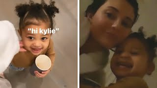 Kylie Jenner's Daughter Stormi WON'T Call Her Mommy!
