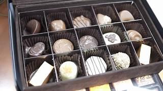 Unboxing Godiva Chocolate