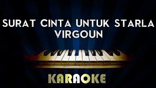 Virgoun Surat Cinta Untuk Starla Piano Karaoke Synthesia