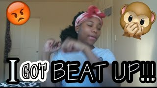 STORYTIME:FIRST TIME FIGHTING A BOY!! PT.1|| I SPIT ON HIM!!