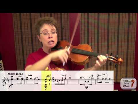 Violin Lesson - How to play Monti's Czardas