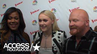 Team Blake On 'The Voice' Team Reveals The Advice Coach Blake Shelton Gave Them | Access Hollywood