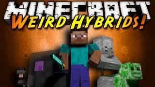 Minecraft Mod Showcase : WEIRD HYBRIDS!