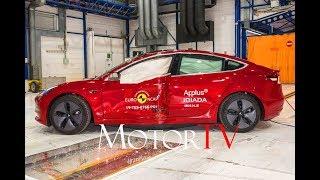 SAFETY : Euro NCAP 2019 I 5 STARS for Tesla Model 3