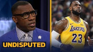 Shannon compares LeBron's LA supporting cast to the one he had with the Cavs | NBA | UNDISPUTED