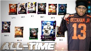 THE ALL-TIME CLEVELAND BROWNS THEMED TEAM! Madden 19 Ultimate Team