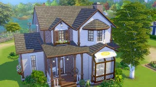 Building a Grandma's Bakery in The Sims 4 (Streamed 12/8/18)