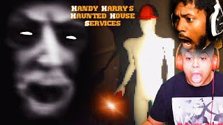 LAUGHING AND SCREAMING FOR 20 MINS | Handy Harry's Haunted House Services (w/Dashie)