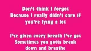 Keri Hilson - Promise in the dark lyrics
