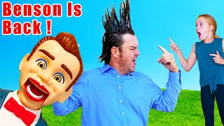 Toy Story Benson Plays Sneaky Jokes on the Kids Fun TV Family!
