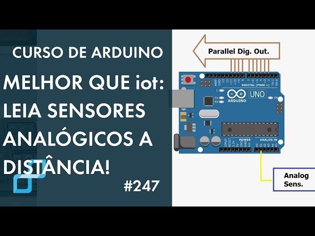 DICA PARA LER SENSORES ANALÓGICOS A DISTÂNCIA COM PRECISÃO! | Curso de Arduino #247