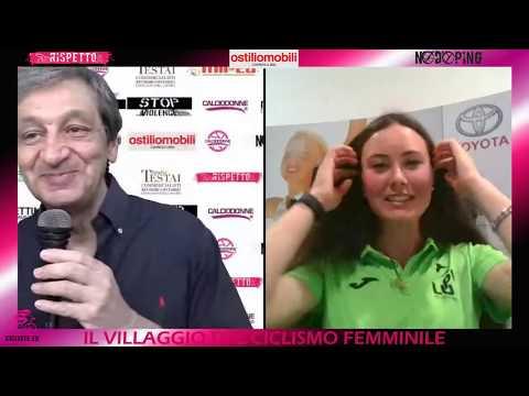 """Gaia Tormena a """"Ciclisti in streaming"""""""