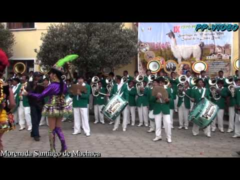 Banda Espectacular Bolivia-Morenada Santiago de Machaca 2011