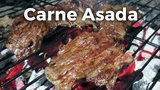 Carne Asada and Camping in Arizona