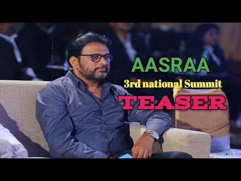 Aasraa 3rd National summit Teaser Release || TODAY NEWS ||