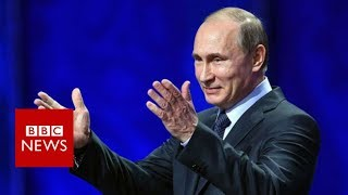 "Vladimir Putin: Syria air strikes were an ""act of aggression"" - BBC News"