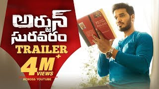 Arjun Suravaram Official Trailer