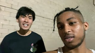 FACE TO FACE with RICEGUM for the first time!! **Intense**